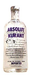 Absolut Blackcurrant Flavoured Vodka