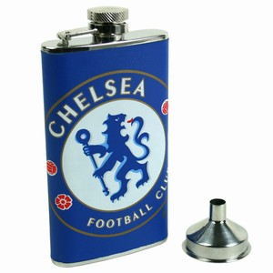 Chelsea Leather Flask