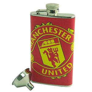 Manchester United Football Club Hip Flask